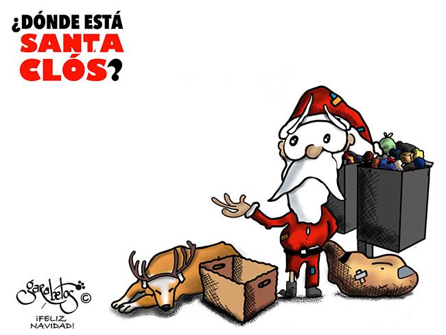 ¿Dónde esta Santa Clos?