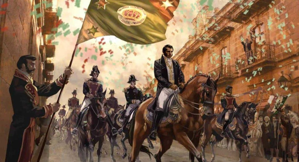Independencia de México - Ejército Trigarante